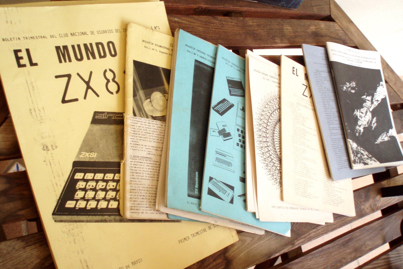 Revistas del Club Nacional de Usuarios del ZX81