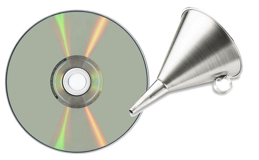 Lleno, por favor. Script para llenar de manera óptima un CD o DVD