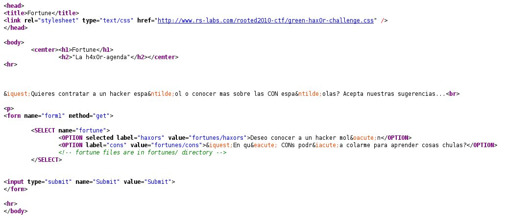 fortune form source code
