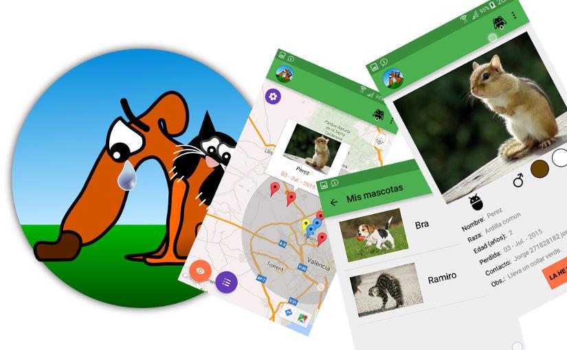 Se busCAN, App android para encontrar mascotas perdidas