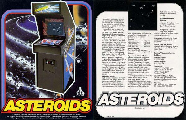 Máquina original de Asteroids
